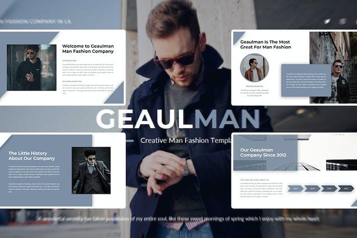Thumbnail for Geaulman – Creative Fashion Google Slide Template