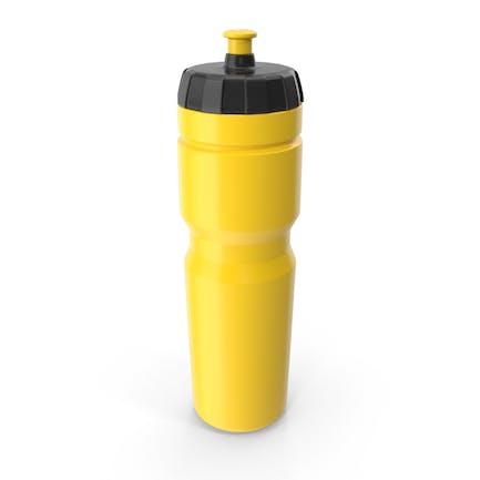 Botella deportiva amarilla