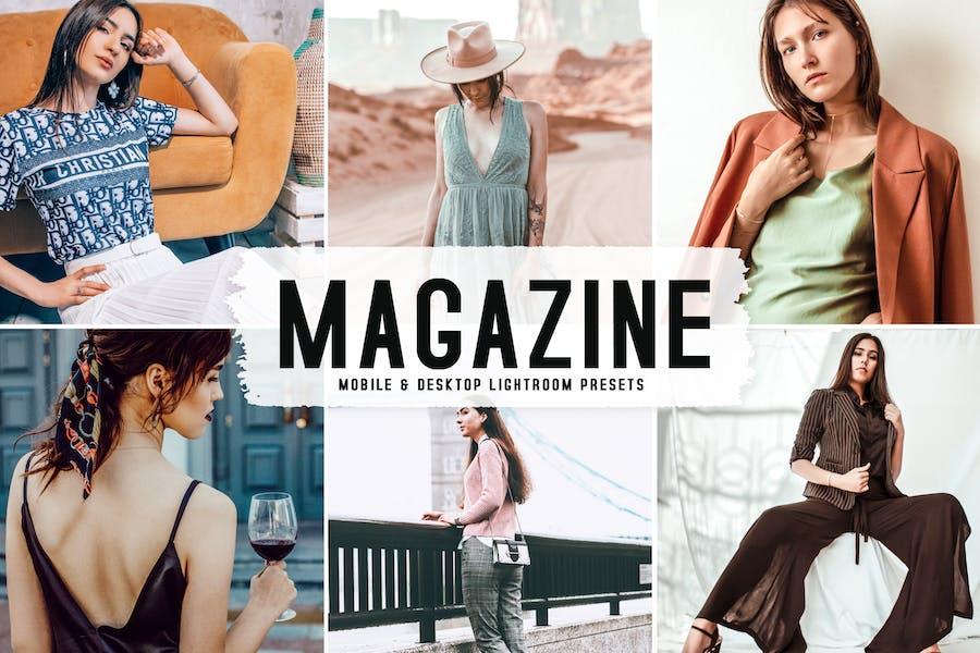 Magazine Mobile & Desktop Lightroom Presets