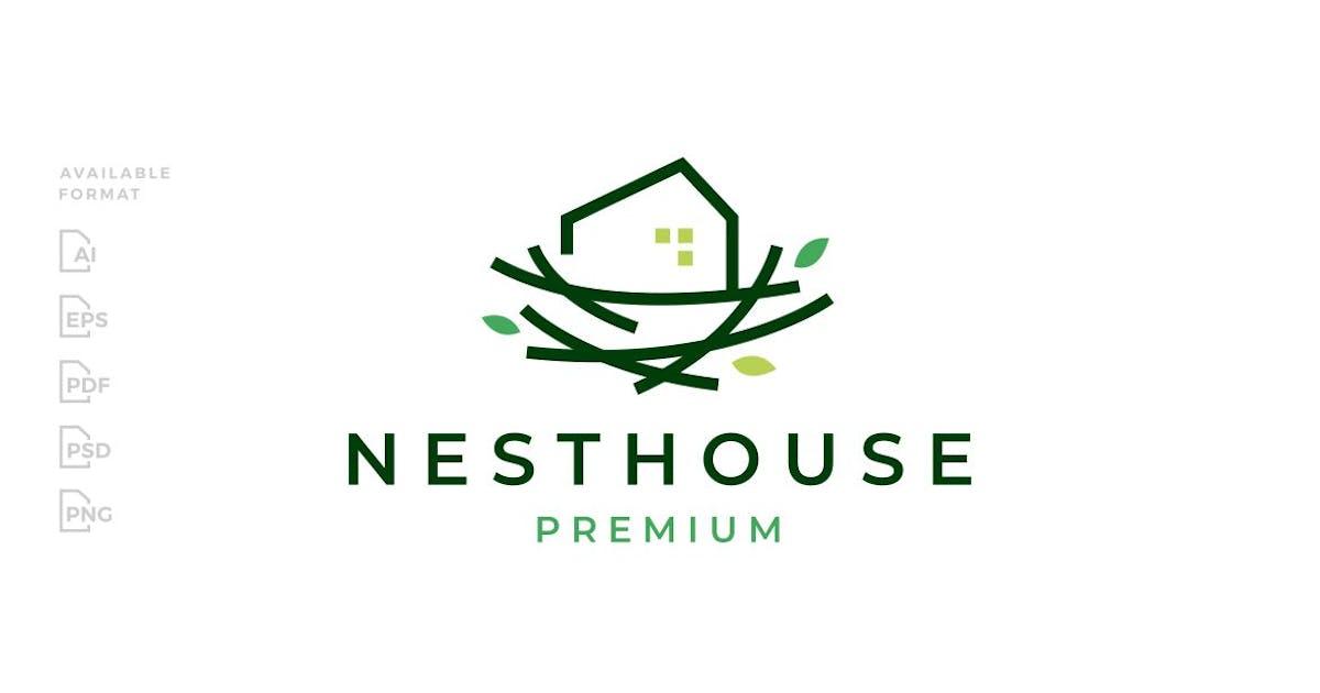 Download Nest House Logo by gagavastard
