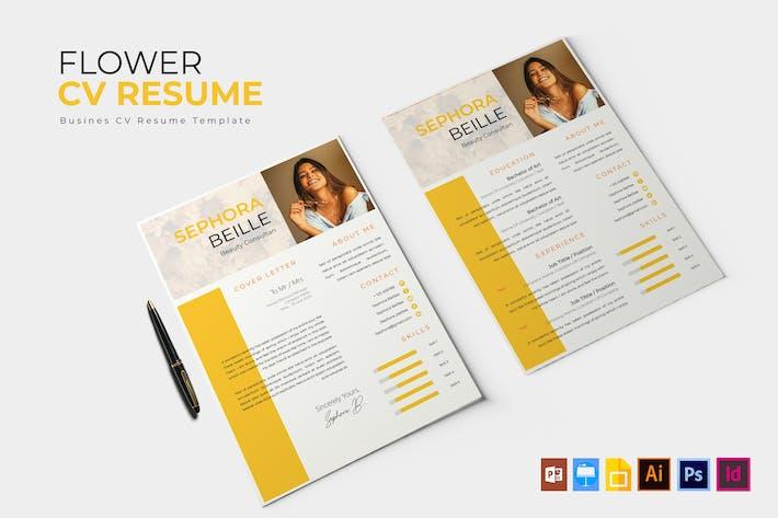 Thumbnail for Flower Peel | CV & Resume