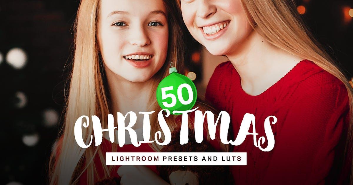 Download 50 Christmas Lightroom Presets LUTs by sparklestock