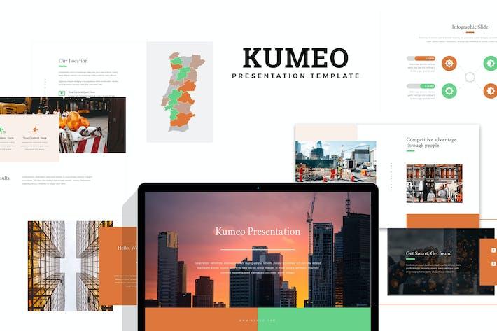 Thumbnail for Kumeo: Строительство и инжиниринг Google слайды