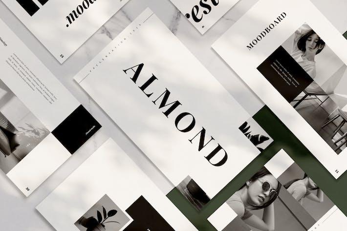 Thumbnail for Almond Google Slides