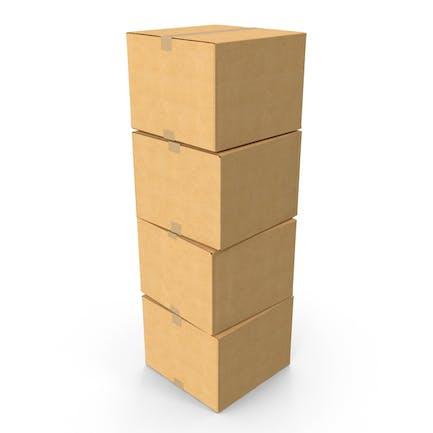 Cardboard Box Stack
