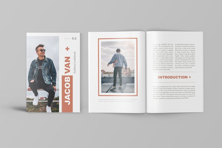 Thumbnail for Jacob - Fashion Magazine Template