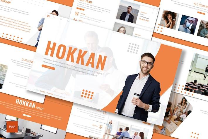 Thumbnail for Hokkan - Business Powerpoint Template