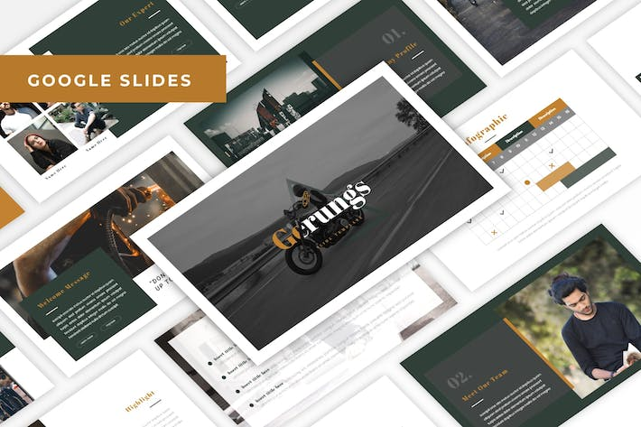Thumbnail for Gerungs - Automotive Google Slides Template