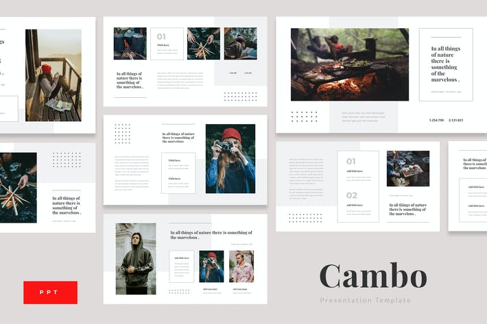 Thumbnail for Cambo - Outdoor Camping Powerpoint Template