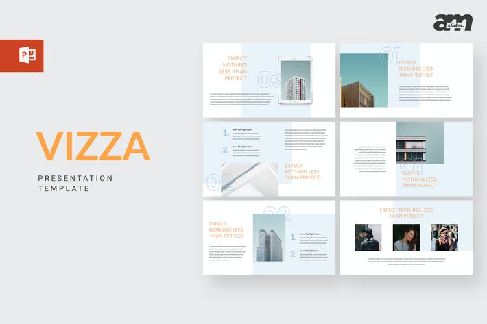 Thumbnail for Vizza - Powerpoint Template