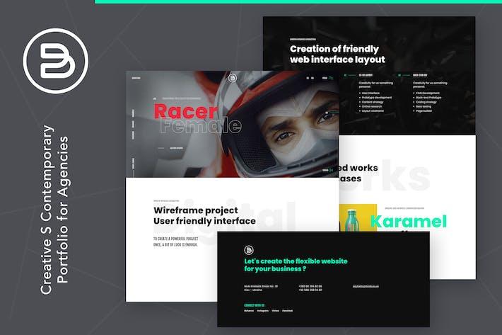 Thumbnail for Brabus | Porfolio Contemporáneo para Agencias