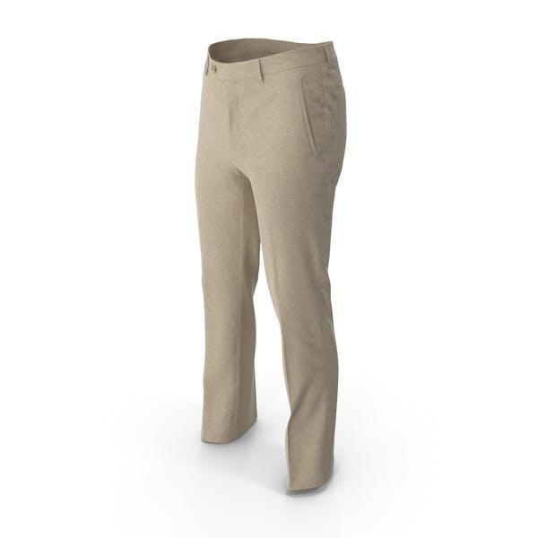 Мужские брюки Желтый