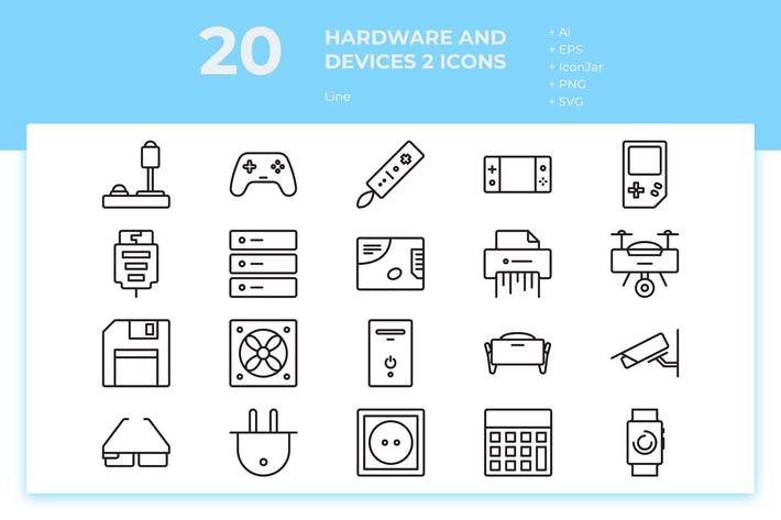 Thumbnail for 20 Hardware and Device 2 (Line)
