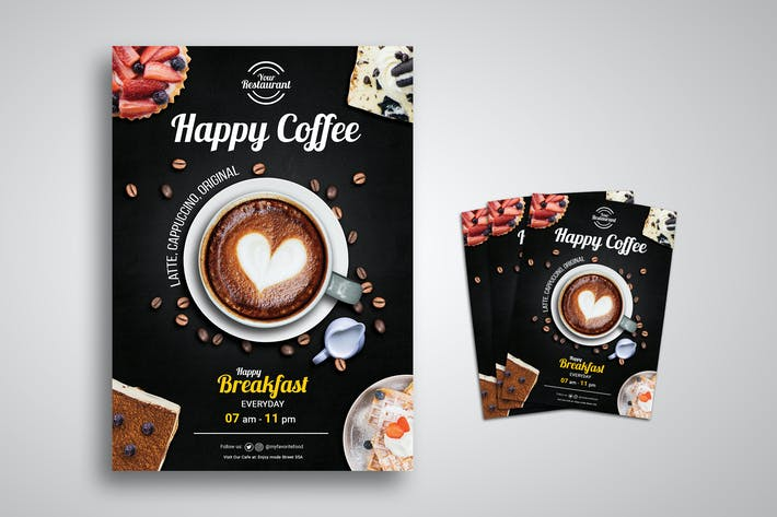 Cover Image For Coffee Promo Flyer