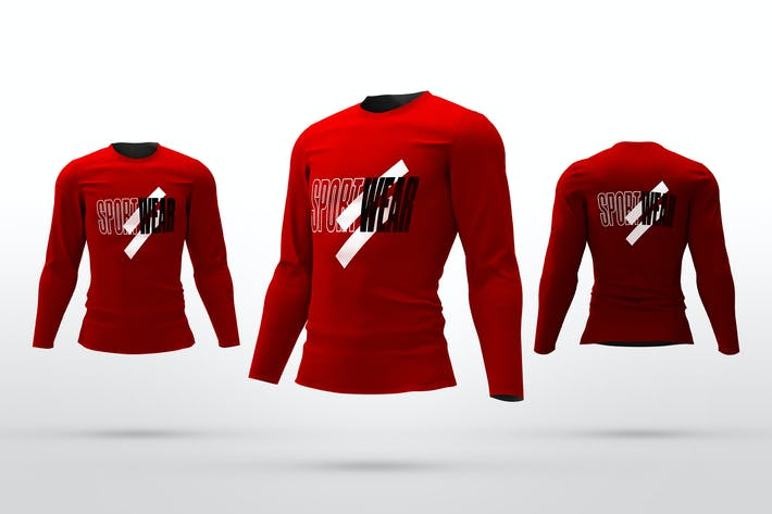 Thumbnail for Sport Long Sleeve Mockups