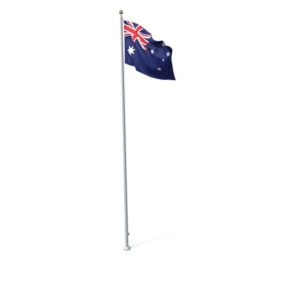 Thumbnail for Flag On Pole Australia