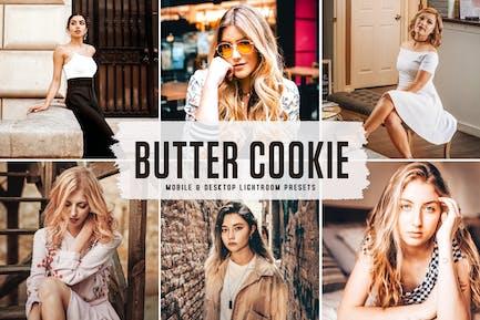Butter Cookie Mobile & Desktop Lightroom Presets