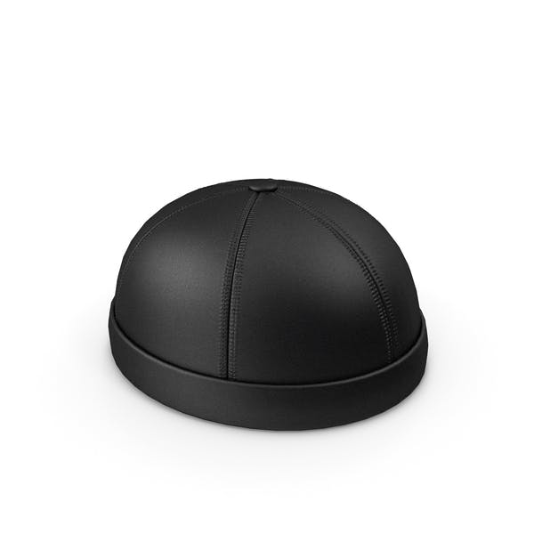 Thumbnail for Leather Cap Without Visor