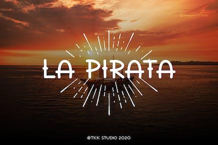 La Pirata - Vintage Tattoo Font
