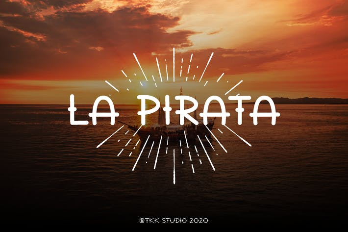 Thumbnail for La Pirata - Vintage Tattoo Font
