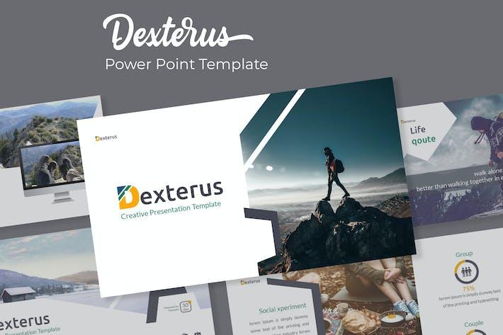 Thumbnail for Dexterus - Plantilla Powerpoint