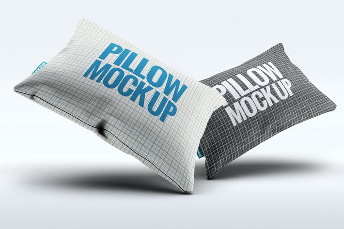 Thumbnail for Fabric Pillow Mock-Up