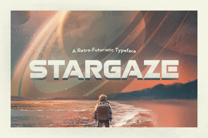 Thumbnail for Stargaze Typeface