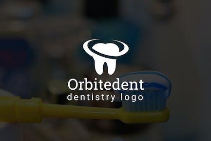 Orbitedent : Dental / Dentist Logo