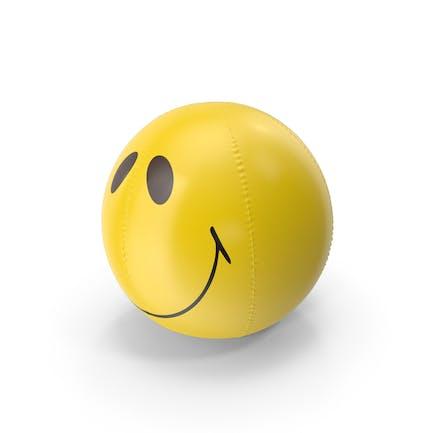 Надувной пляжный мяч улыбка