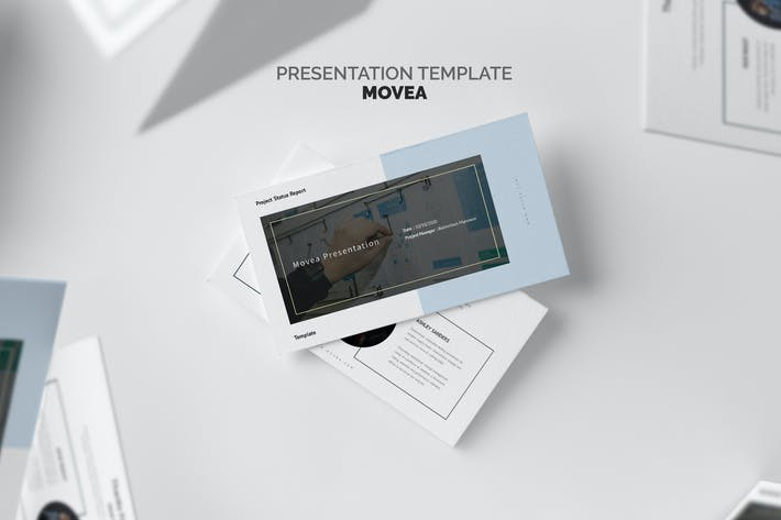 Thumbnail for Movea : Project Status Report Keynote Template