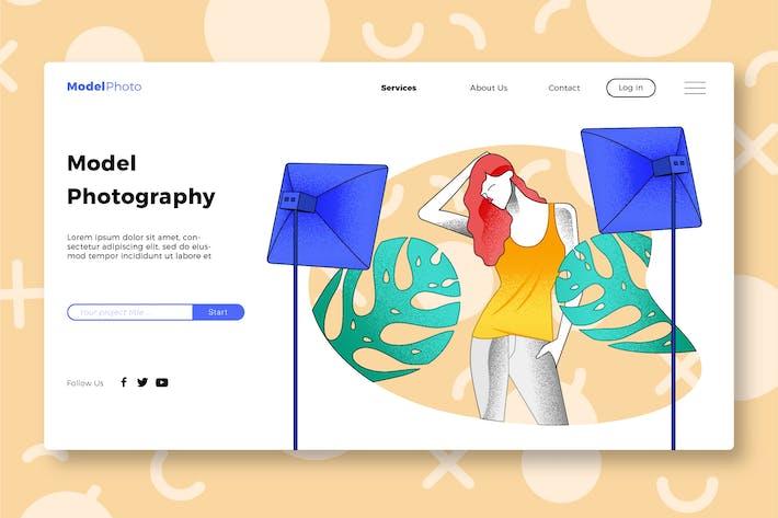 Thumbnail for Model - Banner & Landing Page