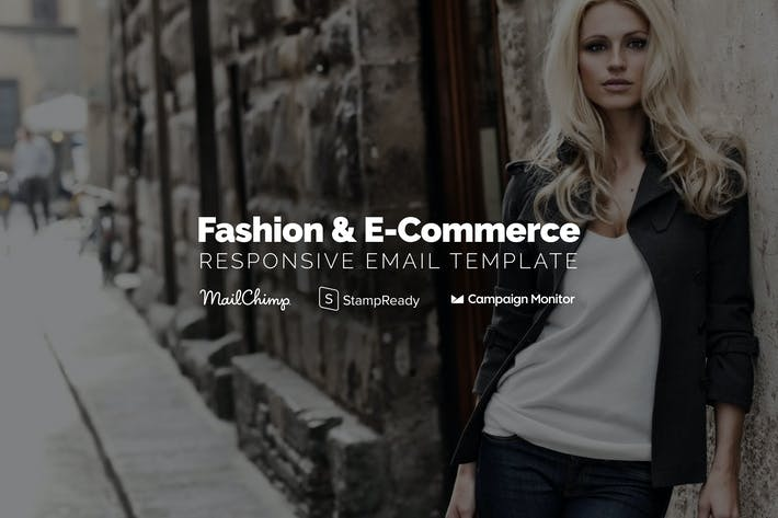 Thumbnail for Fashion & Ecommerce - Responsive Email Template