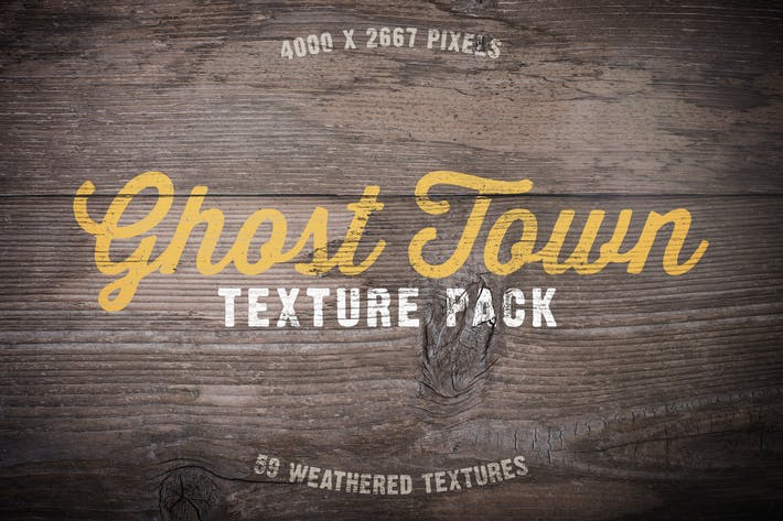 Thumbnail for Ghost Town Grunge Texture Pack Volume 1