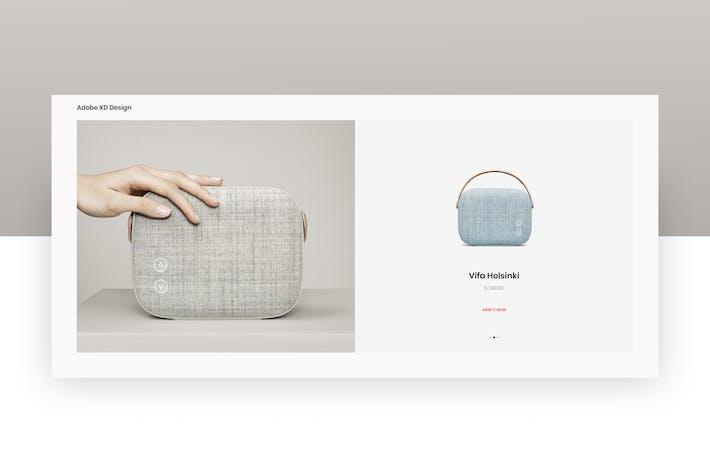 Thumbnail for eCommerce Shop Item - Adobe XD