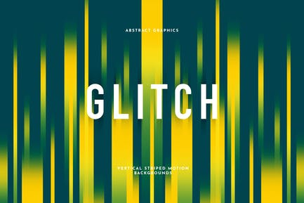 Gestreifter Glitch-Hintergrund
