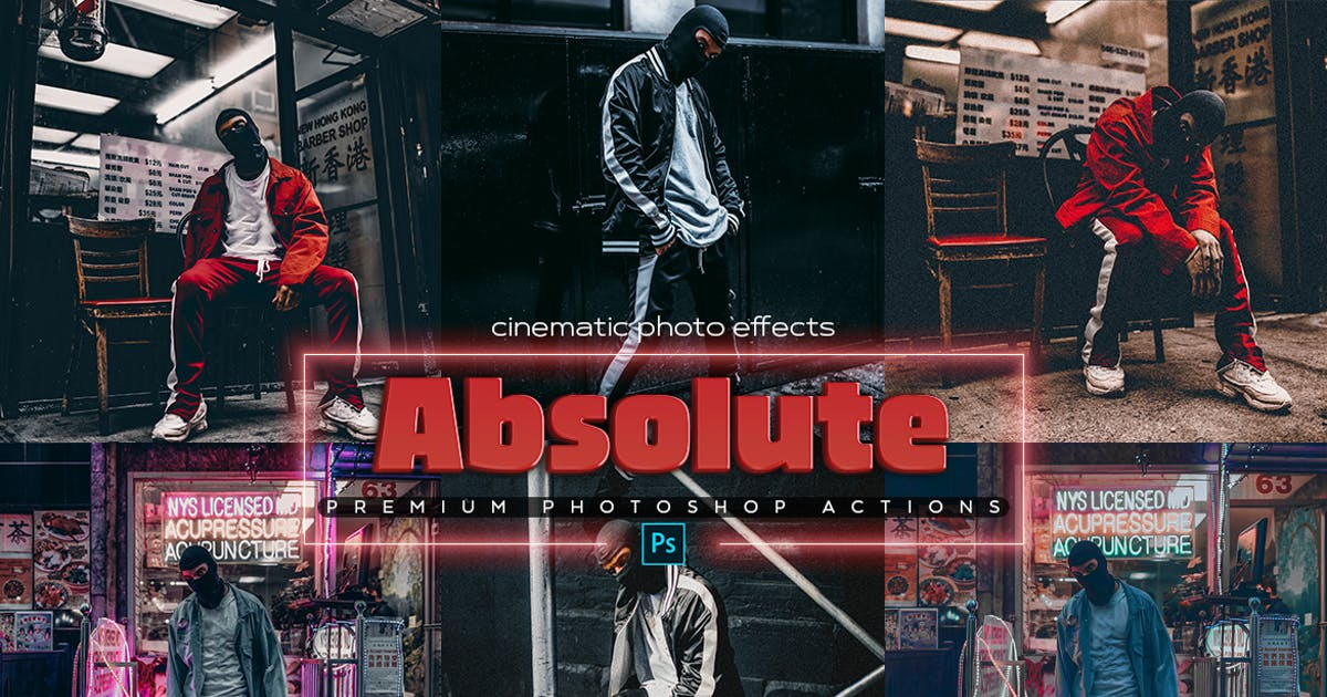 Download Absolute Photoshop Actions by SupremeTones