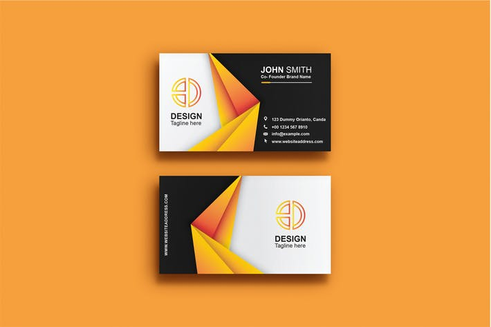 Thumbnail for Business Card Template