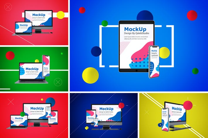 Thumbnail for Abstract Responsive Mockup
