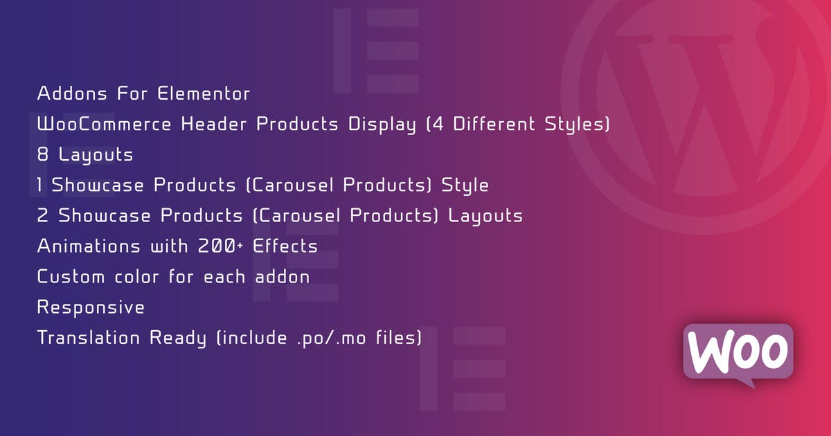 Download WooCommerce Header Products Display for Elementor by ad-theme