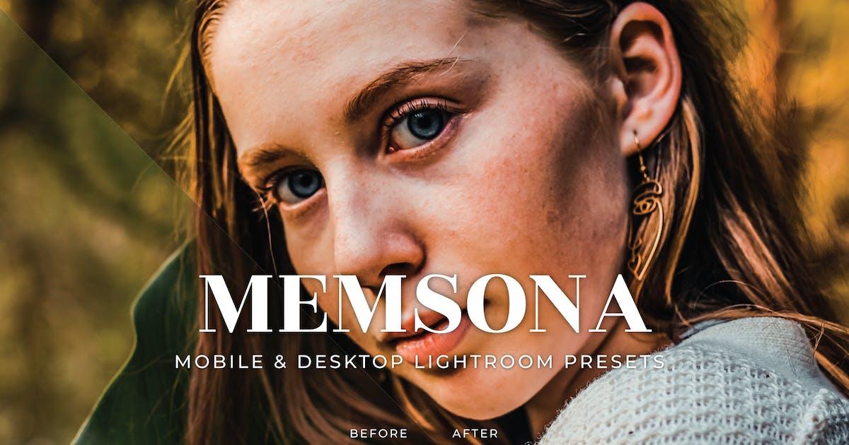 Download Memsona Mobile and Desktop Lightroom Presets by Laksmitagraphics