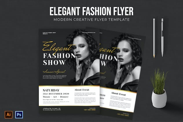 Elegant Fashion - Flyer