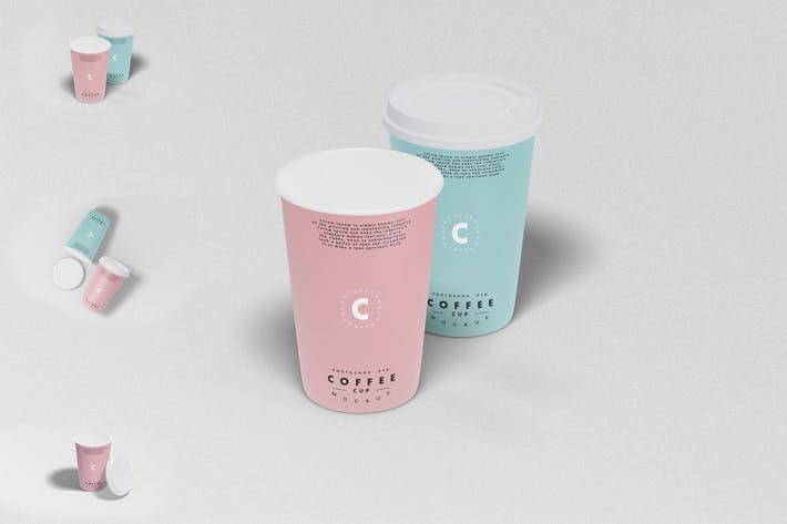 Thumbnail for Coffee Cup Mockup Photoshop Template