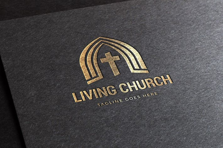 Thumbnail for Living Church Logo Template