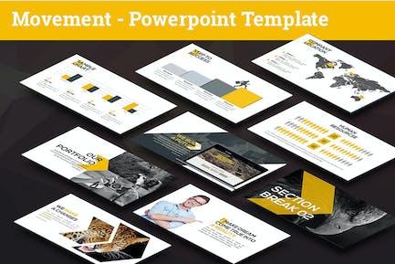 Movement - Swiss Powerpoint Template