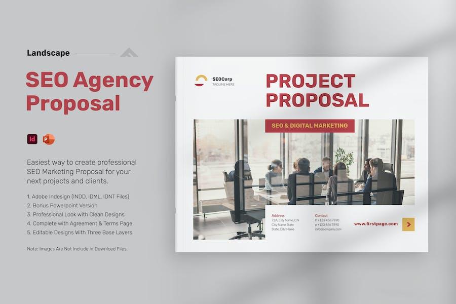 SEO Proposal Management - Landscape