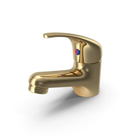 Gold-Waschtischmischer