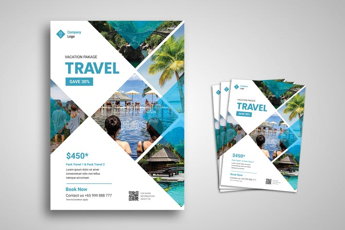 Thumbnail for Travel Flyer Promo Template