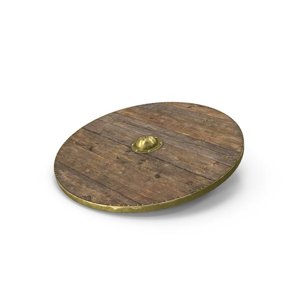 Medieval Wooden Shield