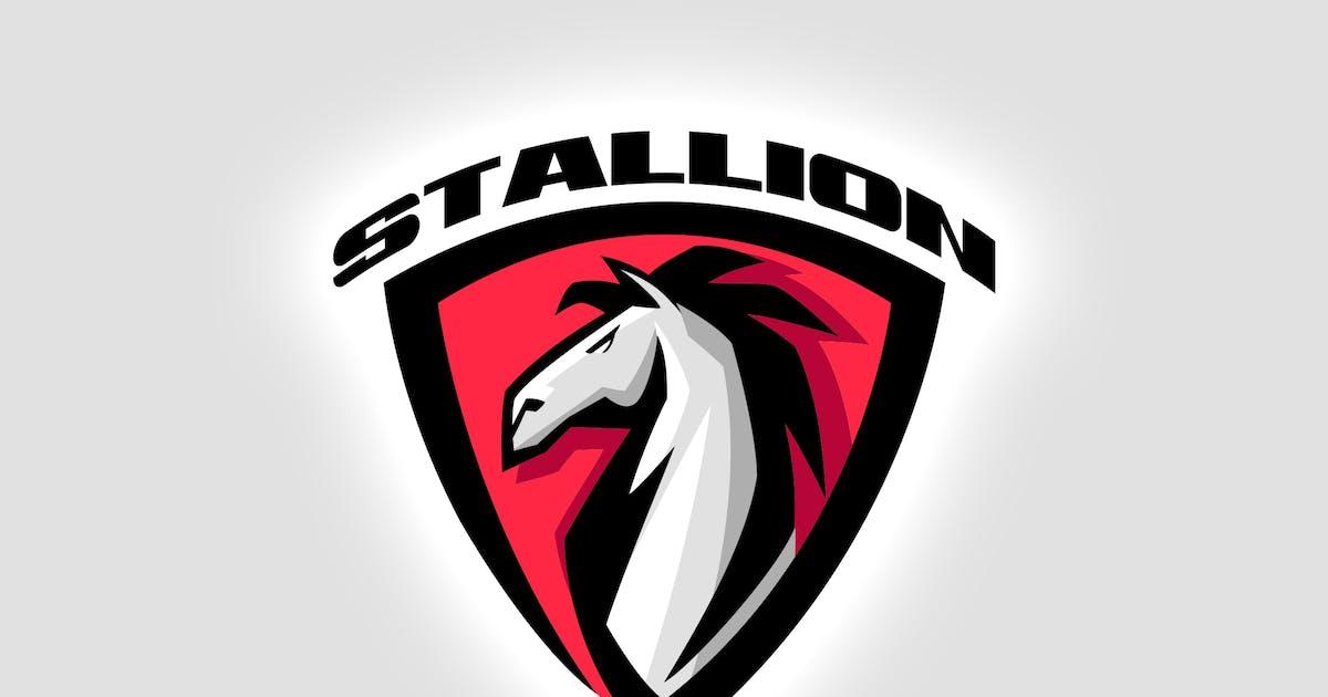 Download Stallion Emblem - Sporty Dynamic Horse Logo by Suhandi