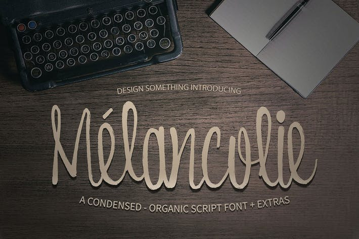 Thumbnail for Polices Melancolie